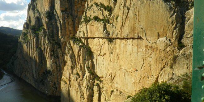 Ein königlicher Klettersteig: Caminito del Rey