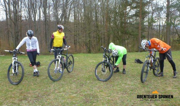 So, alle mal das Bike checken