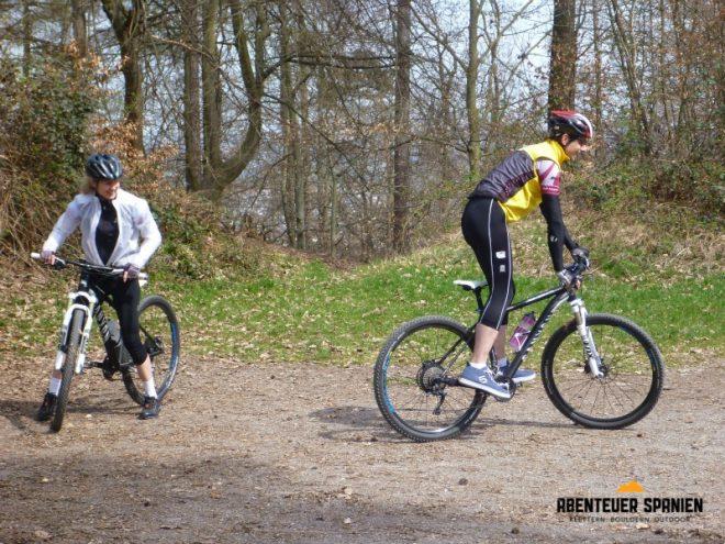 Vom Rennrad aufs Mountainbike ist ein Umstieg