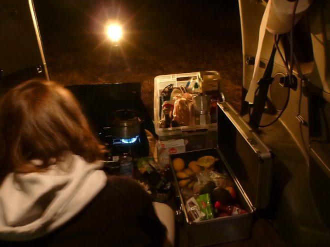Kochen bei Nacht - irgendwie geht das schon