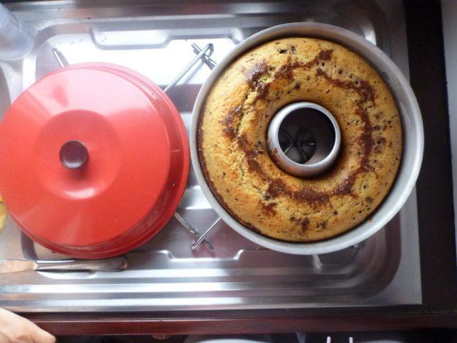 Hmm, frischer Marmorkuchen.
