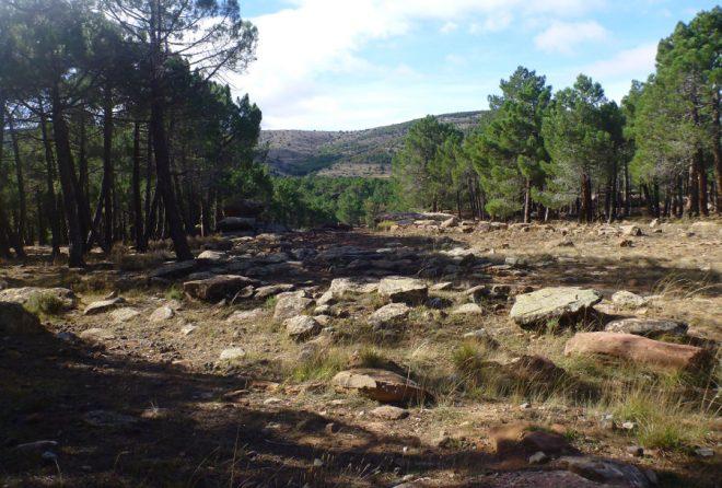 Albarracín beeindruckt durch eine wunderschöne Landschaft!