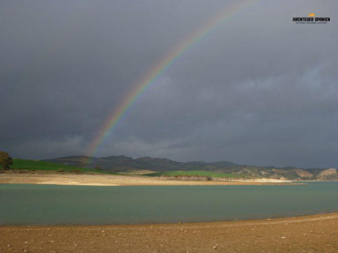 Ein andalusischer Regenbogen.