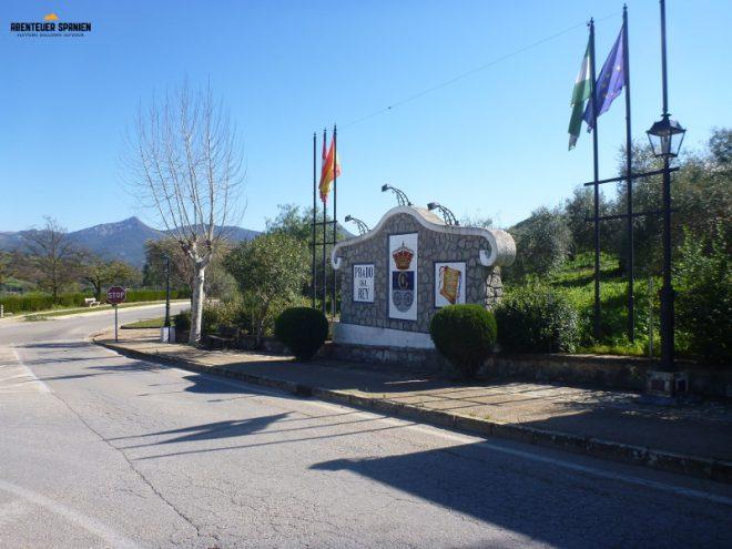 Ortseingang Prado del Rey