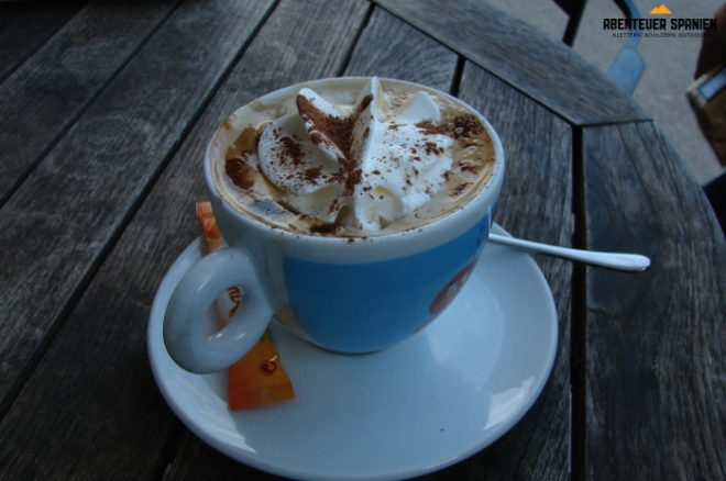 Kein Coffee2Go, sondern ruhiger Kaffeegenuss