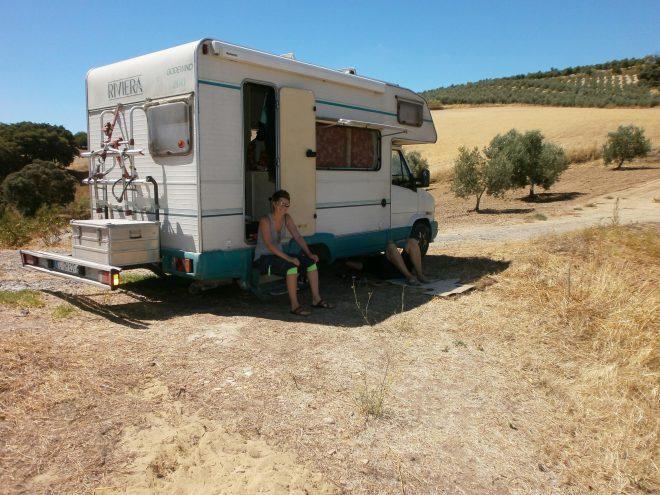 Camperleben in Spanien