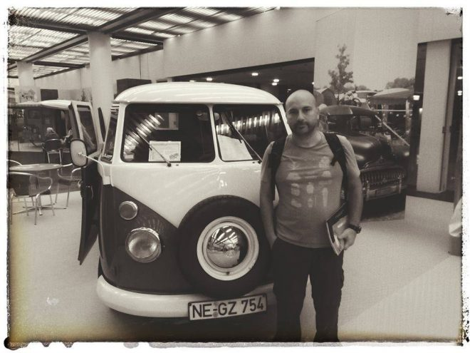 Nuno liebt Campervans.