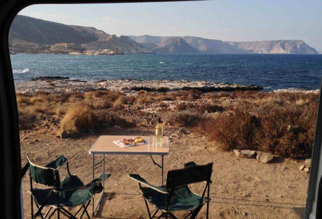 Campen am Meer