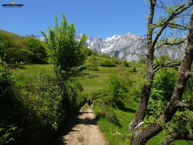 Teil des Wanderweges