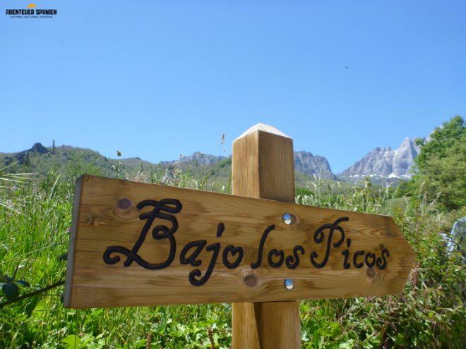 Wanderung Bajo los Picos