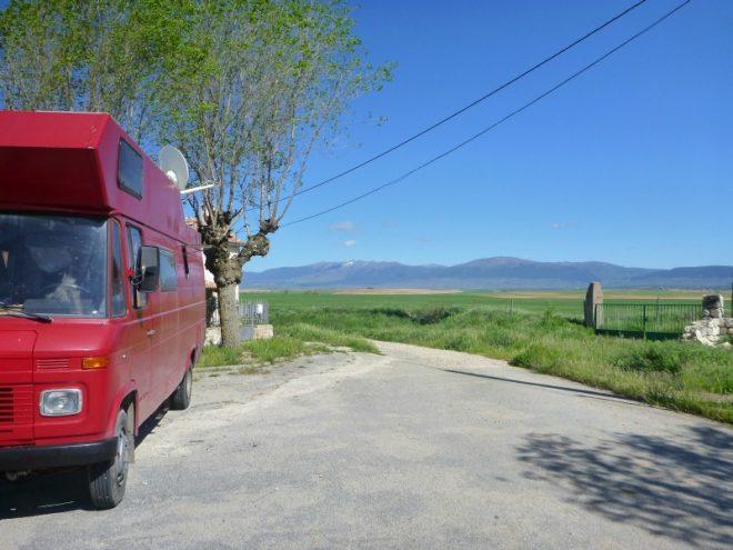 Wir parken 3 Tage in einem winzigen Dorf