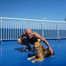 Horst auf hoher See: Mit der Fähre von Ancona nach Patras