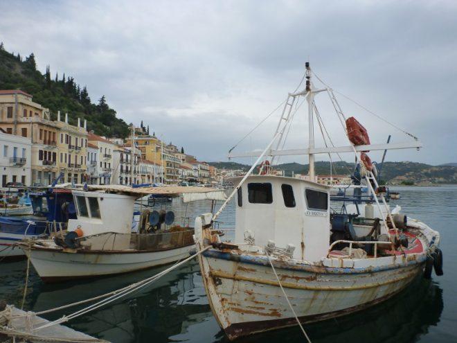 Am Hafen von Githio
