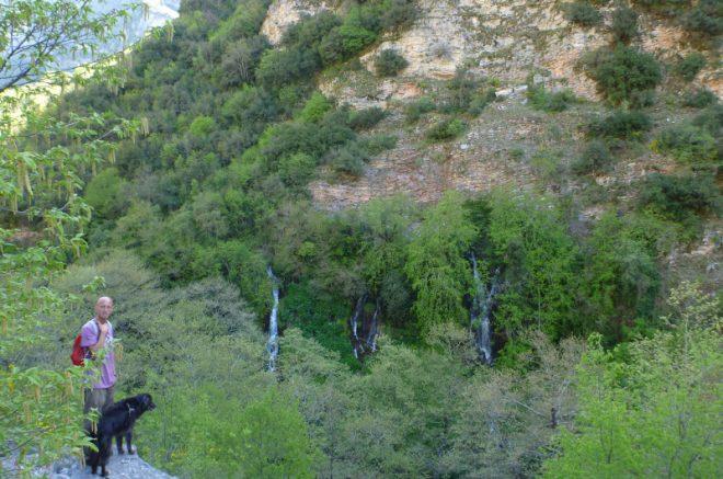 Wasserfall bei Kalarites