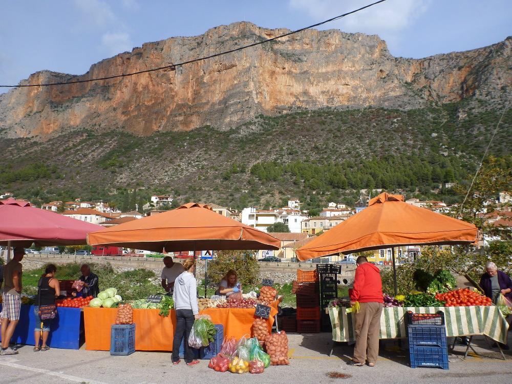 Wochenmärkte in Griechenland