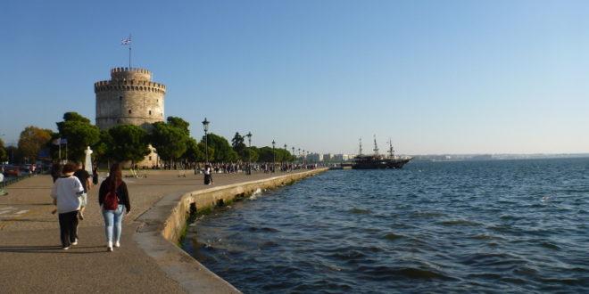 Mein Ausflug nach Aigio, Patras und Thessaloniki