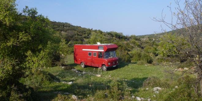 Mit dem Wohnmobil vom Peloponnes in den Epirus